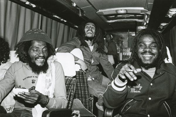 Bob Marley e The Wailers em excursão